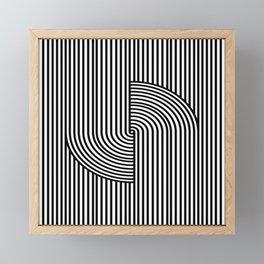 Curves Framed Mini Art Print