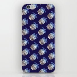 Turtle beach pattern iPhone Skin