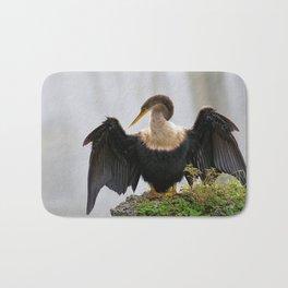 Anhinga or Snakebird Bath Mat