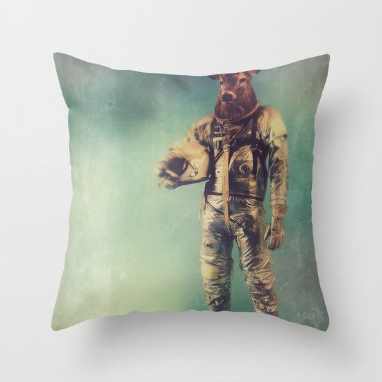 Without Words Throw Pillow