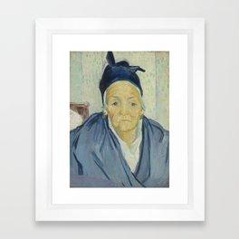 An Old Woman of Arles Framed Art Print