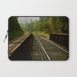 Train Trestle Laptop Sleeve