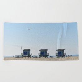 Venice Beach Views Beach Towel