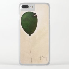 fly high wide eyes 2 Clear iPhone Case