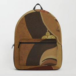 The portuguese earring Backpack
