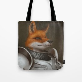 The Knight Fox Tote Bag