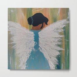 Angels watching Metal Print