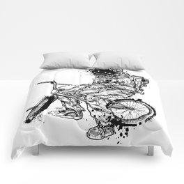 Void in Space (Blk) Comforters