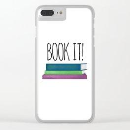 Book It! Clear iPhone Case