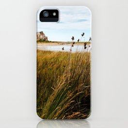 House between rocks in Brittany, Castel Meur III iPhone Case