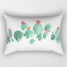 Cactus (3) Rectangular Pillow