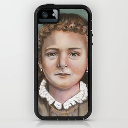 Saint Therese of Lisieux at age 8 iPhone Case
