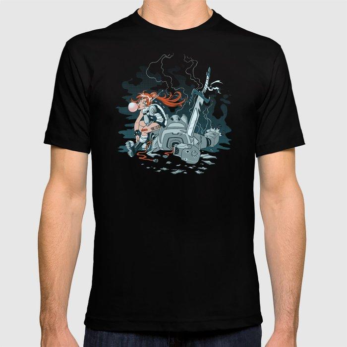 Cyberpunk Beat Down T-shirt