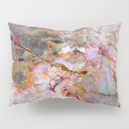 Rainbow Marble 1 Pillow Sham