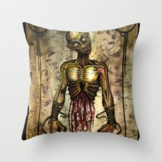 Gut Your Zombie Throw Pillow