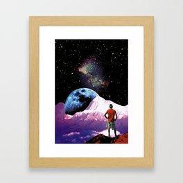 Where I have to go now? Framed Art Print