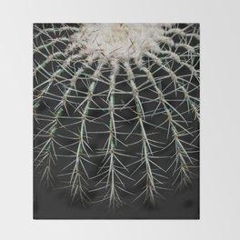 Carinate Cacti I Throw Blanket