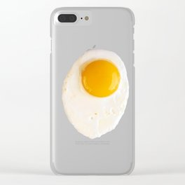 Fried Egg Clear iPhone Case