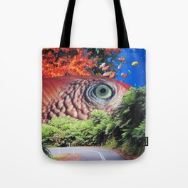 Keep Your Eye on the Road Tote Bag