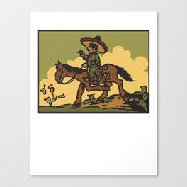 Vaquero Canvas Print
