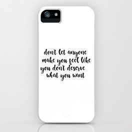 10 Things I Hate About You Quote iPhone Case