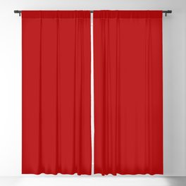 Crimson Red - Solid Color Collection Blackout Curtain