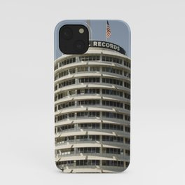 The Iconic Capitol Records Building iPhone Case