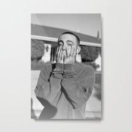 Mac Miller Rapper Hip Hop Metal Print