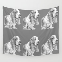 Basset hound Wall Tapestry