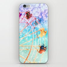 Galaxy Wheel iPhone & iPod Skin