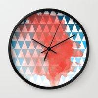 berlin Wall Clocks featuring Berlin by Menina Lisboa