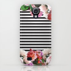 stripes and flowers Slim Case Galaxy S4