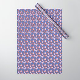 JUN - purple & pink Wrapping Paper