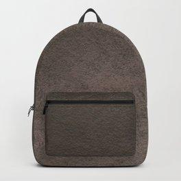 Old grey brown Backpack
