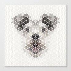 Happy pup Canvas Print