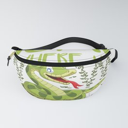 Snake Home   Reptiles Pet Animals Serpents Gift Fanny Pack