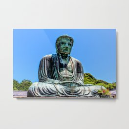 Great Buddha of Kamakura Metal Print
