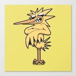 Pokémon - Number 145 Canvas Print