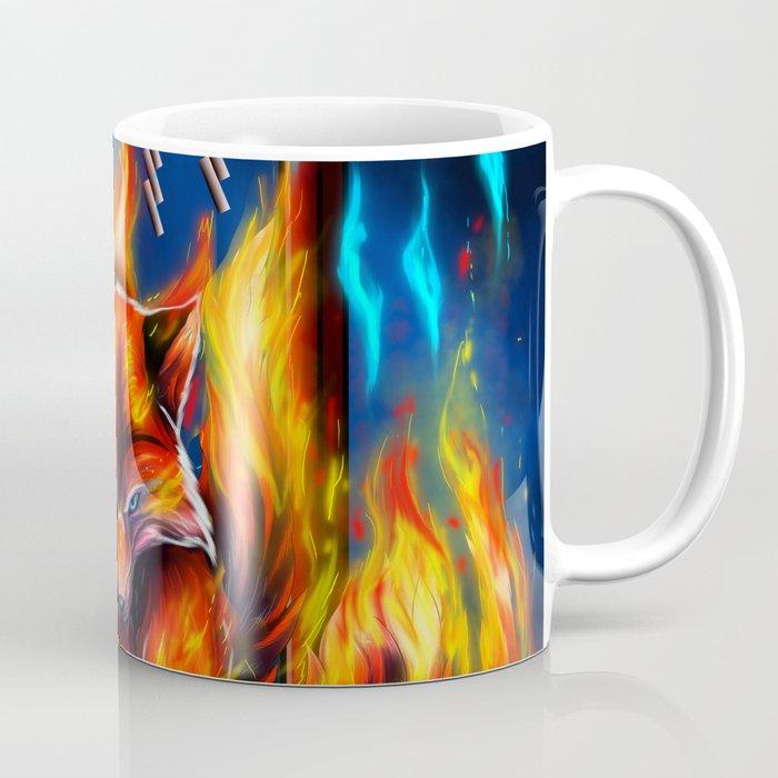 9 Tails Fire Fox Coffee Mug