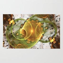 Coffee or Tea - Abstract Fractal Artwork Rug
