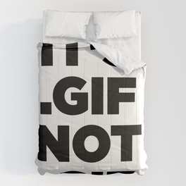 It's .gif, not .gif (gotham ultra) Comforters