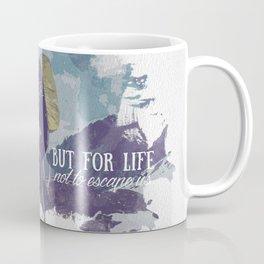 Travel - Text Coffee Mug