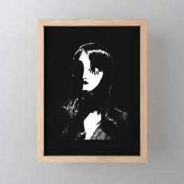 Art Deco Woman - Sin City Style Framed Mini Art Print
