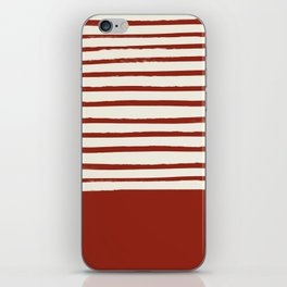 Holiday x Red Stripes iPhone Skin