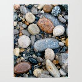 River Rock Design Poster