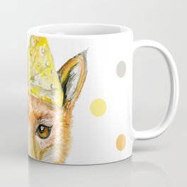 Foxy lady with yellow ribbon Coffee Mug