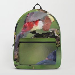 Toucan sitting on branch Costa Rica Backpack