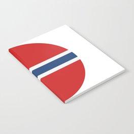 Norway flag Notebook