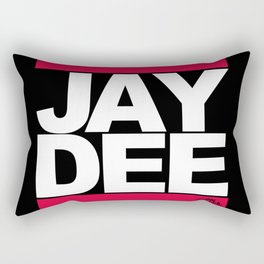 JAY DEE aka JDILLA (RUNDMC tribute) Rectangular Pillow
