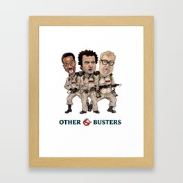 Otherbusters with Glow Title Framed Art Print